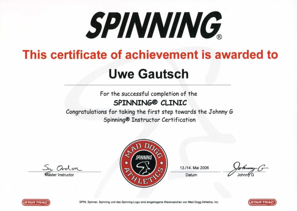 SPINNING®: GAUTSCH Sport- & Eventservice